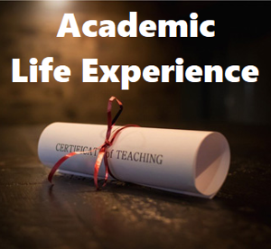 Picture of Academic Life Experience