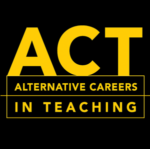 Picture for category ACT: Alternative Careers in Teaching